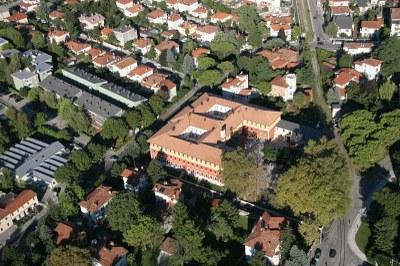 Veduta aerea della sede del Consorzio